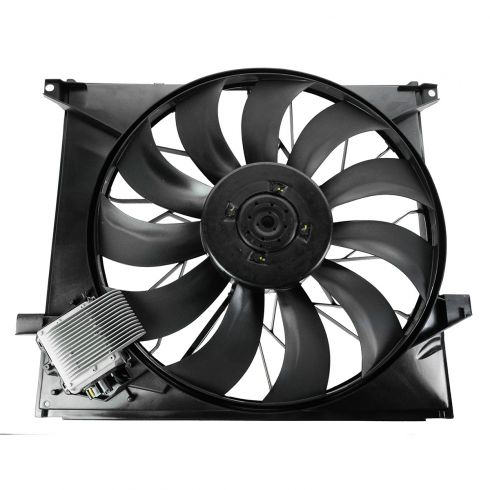 00-03 Mercedes Benz ML55 AMG; 02-05 MB ML500  Radiator Cooling Fan Assy