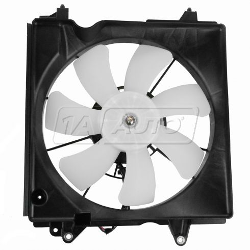 12-13 Honda Civic Sedan MX Hybrid; 13 Acura ILX Hybrid w/1.5L Radiator Cooling Fan Assy LH
