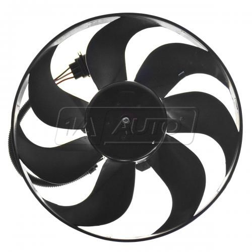 00-06 Audi TT 1.8; 99-06 Golf; 99-05 Jetta Radiator Fan & Motor LH