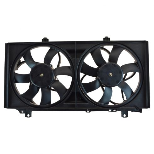 10 Chevy Camaro Dual Radiator Cooling Fan Assy (1st design)