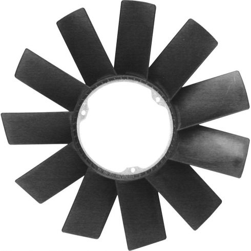 88-05 BMW 3, 5, 7, M, X, Z Series 6 Cyl 11 Blade Fan (420mm Dia)