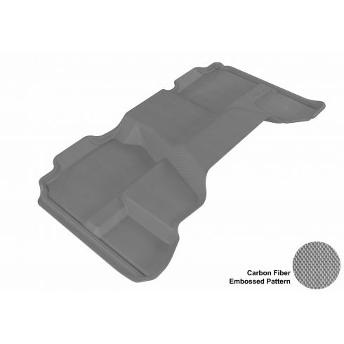 07-13 Chevy/GMC Full Size P/U Extended Cab Gray Rear Floor Liner