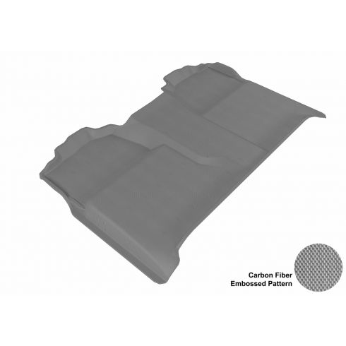 07-13 Chevy/GMC Full Size P/U Crew Cab Gray Rear Floor Liner