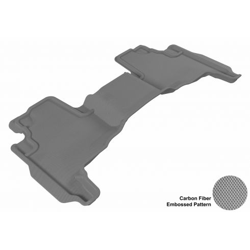 2005-10 Grand Cherokee, 06-10 Commander Gray Rear Floor Liner