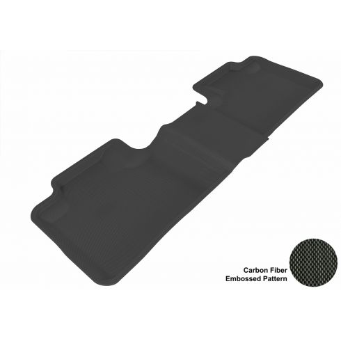 11-13 Jeep Grand Cherokee, Dodge Durango Black Rear Floor Liner