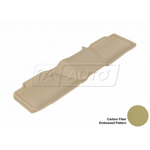 07-13 Tahoe/Yukon/Suburban/Yukon XL 2nd Row Tan Rear Floor Liner