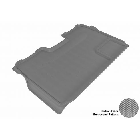 09-13 Ford F150 Super Crew Gray Rear Floor Liner