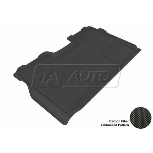 09-13 Ford F150 Super Crew Black Rear Floor Liner