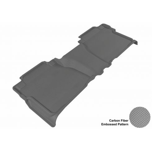 07-13 Toyota Tundra Double Cab Gray Rear Floor Liner