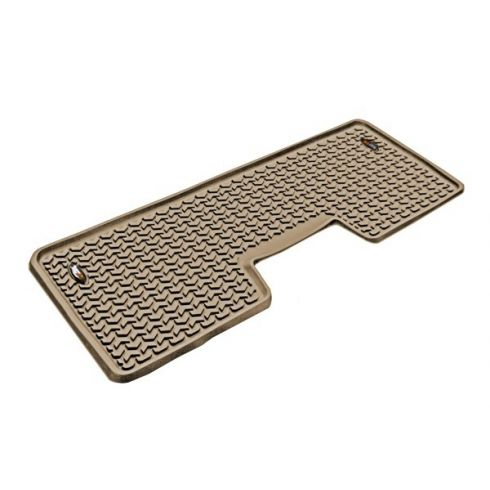 09-14 Ford F150 Crew Cab (1 Piece) Tan Rear Floor Liner (Rugged Ridge)