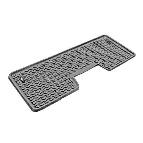 09-14 Ford F150 Crew Cab (1 Piece) Gray Rear Floor Liner (Rugged Ridge)