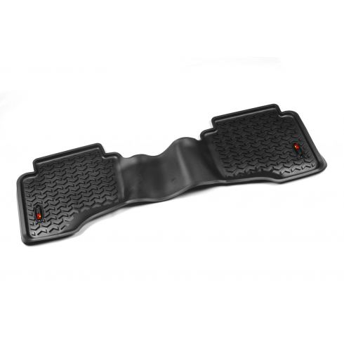 05-10 Jeep Grand Cherokee; 06-10 Commander (1 Piece)  Black Rear Floor Liner (Rugged Ridge)