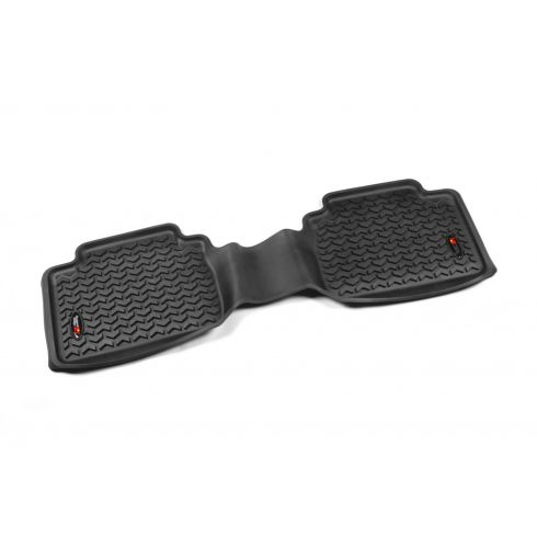 05-14 Toyota Tacoma Access & Double Cab (1 Piece)  Black Rear Floor Liner (RuggedRidge)