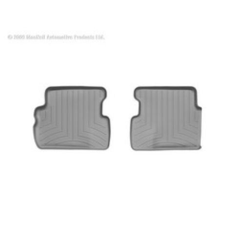 Grey Buick Enclave/Chevy Traverse/GMC Acadia/Saturn Outlook Rear Floor Liner