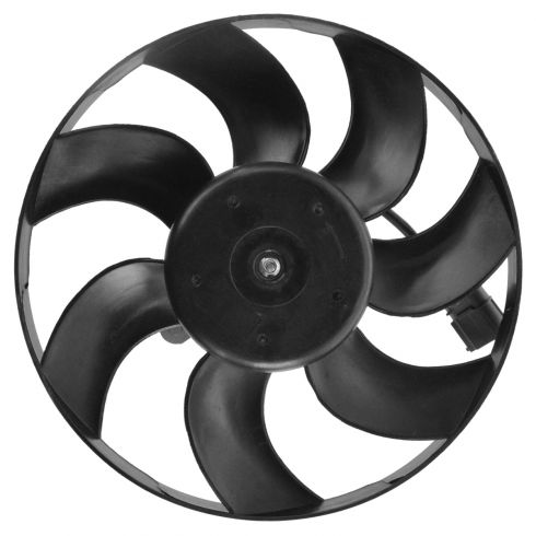 05-10 VW Jetta Sedan Gen 5; 06-09 GTI Gen 5; 10-14 GTI, Golf Htbk Radiatr Fan Motor w/Blades ONLY RH