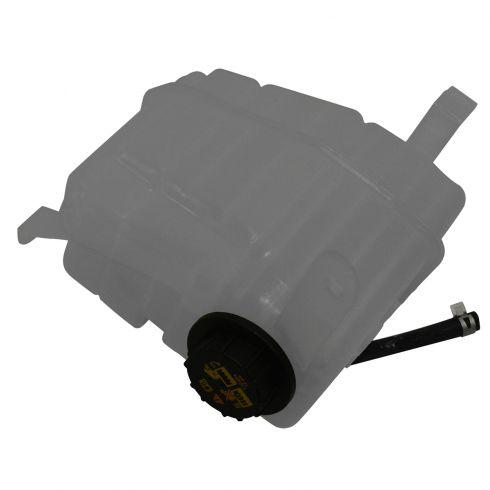 02-03 Blkwd; 97-02 Exptn; 97-04 F150 Htge (w/o Ltng or Hard); 98-02 Navigator Rad Ovrfow Tank w/Cap