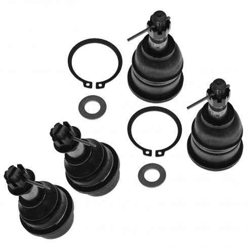 99-10 GM Full Size PU SUV Front Upper & Lower Ball Joint SET of 4