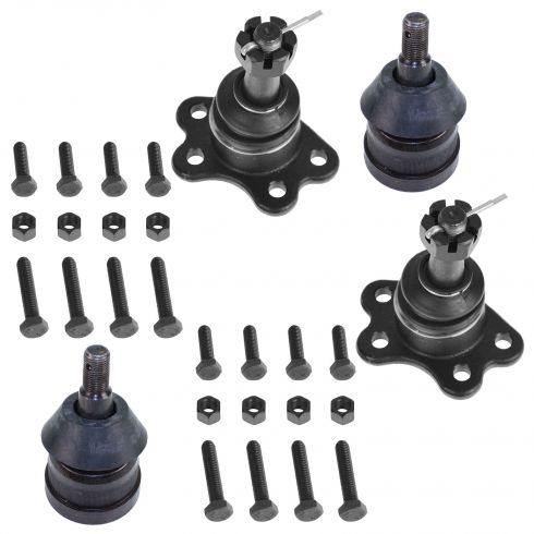 1988-92 Chevy GMC 2WD Upper & Lower Ball Joint Kit (Set of 4)