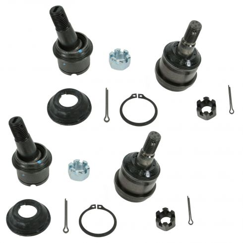 Upper and Lower Ball Joint SET of 4 (Moog K7460 & K7467)