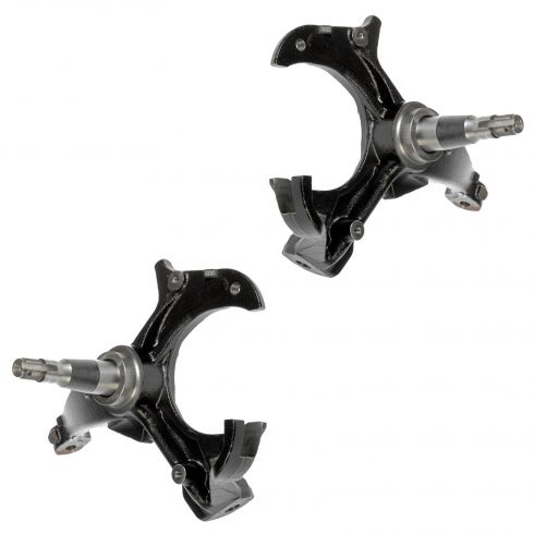80-03 GM 2WD Multifit Front Knuckle w/Spindle PAIR