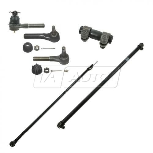 Tie Rod & Adjusting Sleeve COMPLETE KIT (SET of 6)