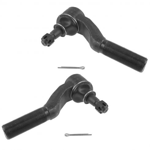 92-07 Ford Van Outer Tie Rod End Front Pair