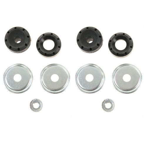86-07 Ford Taurus; 86-05 Merc Sable; 03-08 Crown Vic, Grand Marquis Upper Shock Mount Kit REAR PAIR