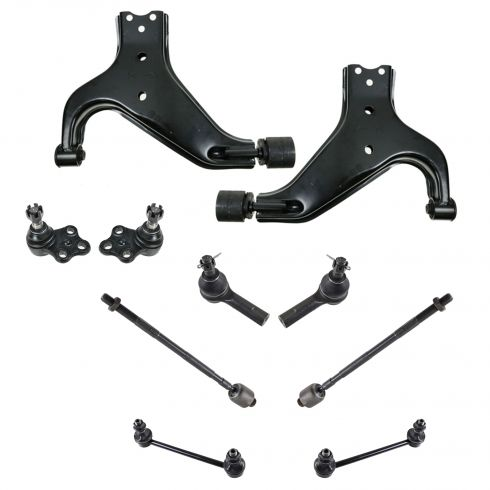 96-04 Nissan Pathfinder; 97-03 Infiniti QX4 Front Suspension Kit