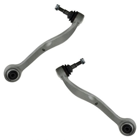 04-10 BMW 5 Series RWD Front Rearward Lower Control Arm PAIR