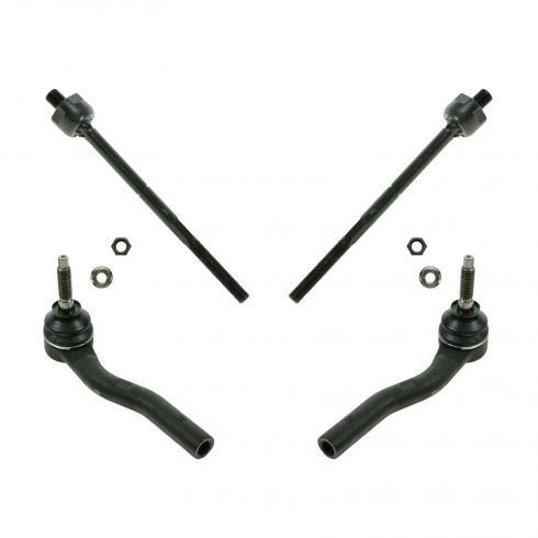 Inner & Outer Tie Rods (Set of 4)