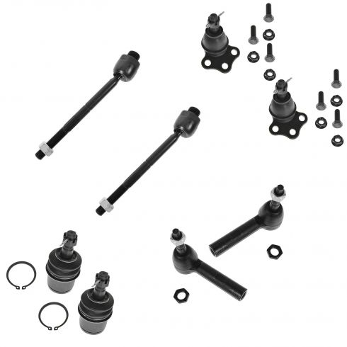 00-04 Dodge Dakota; 00-03 Durango 4WD Front Suspension Kit