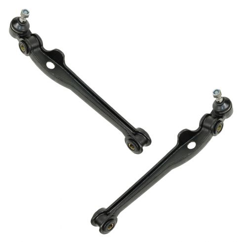 79-81 BMW528i; 75-78 530i; 77 630CSI Front; 78-82 Front Rearward Lower Control Arm PAIR