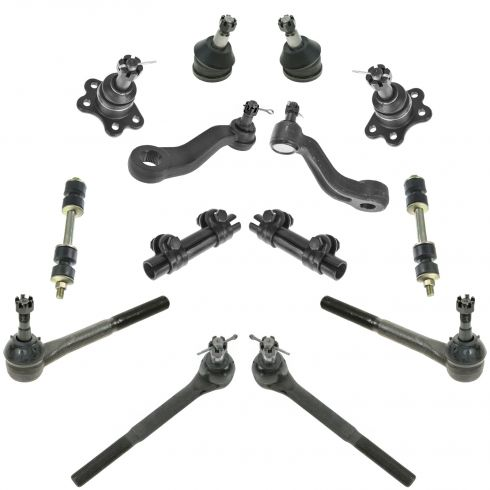 1993-00 Chevy GMC Pickup SUV 2WD 14 Piece Front Suspension Kit