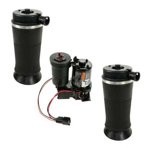 97-02 Ford Expedition; 98-02 Lincoln Navigator 4WD Rear Suspension Air Bags & Compressor/Dryer Kit