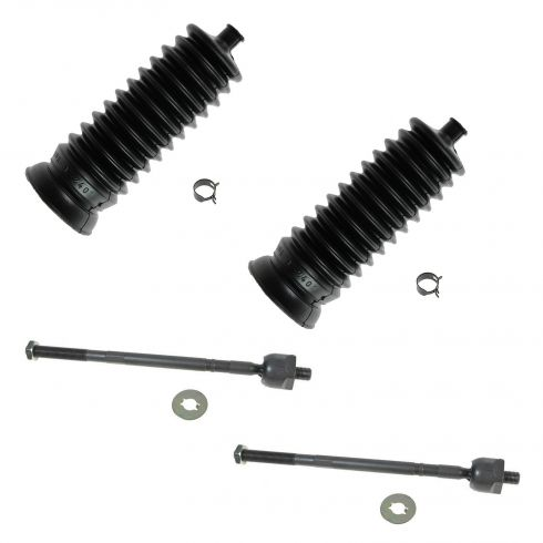 93-97 Subaru Impreza; 90-04 Legacy,00-04 Outback Front Inner Tie Rod & Bellows Kit