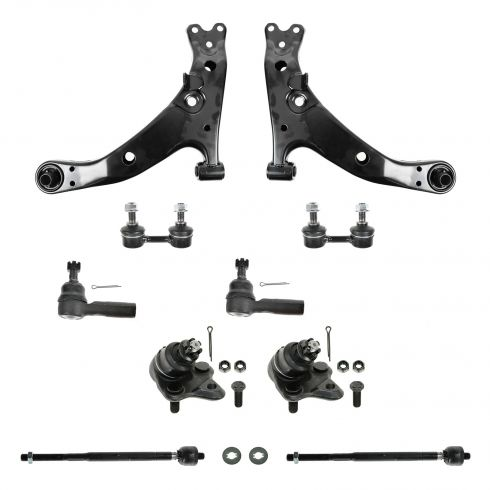 96-02 Toyota Corolla 10 Piece Steering/Suspension Kit