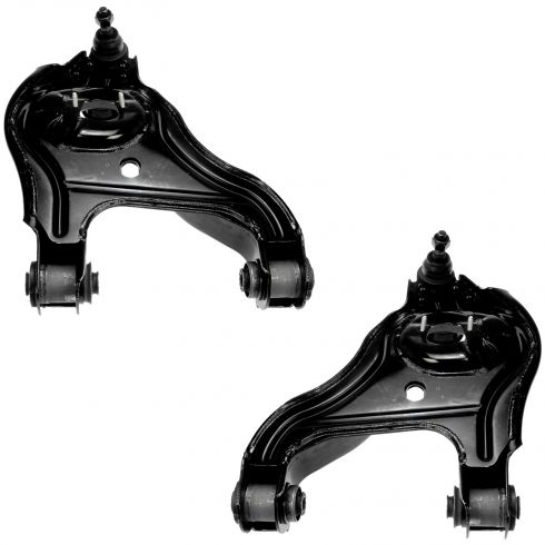 06-08 Dodge Ram 1500 Mega Cab; 06-12 2500; 06-11 3500 w/2WD Front Lower Control Arm w/Balljoint PAIR