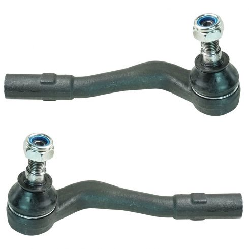 01-12 Mercedes Benz C, CLK, SLK Series Front Outer Tie Rod End PAIR