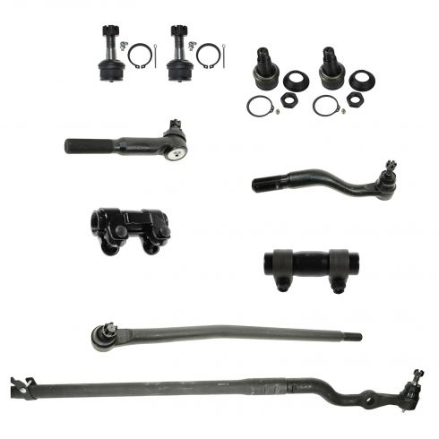 00-05 Ford Excursion; 99-04 F250, F350, F450, F550 Front Suspension Kit (10 Piece)