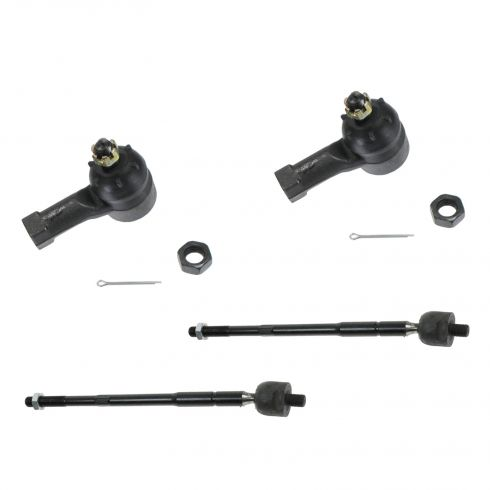 01-05 Sebring, Stratus Cpe; 00-05 Eclipse; 99-03 Galant Front Inner/Outer Tie Rod End Kit (Set of 4)