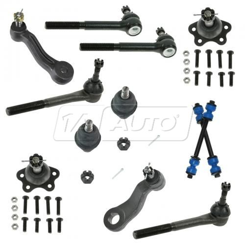 96-99 K1500, Suburban K1500; 96-00 K2500, Tahoe, Yukon 12 Piece Suspension Kit