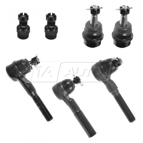 91-01 Jeep Cherokee; 91-92 Comanche; 93-98 Grand Cherokee; 91-06 Wrangler 7 Piece Suspension Kit