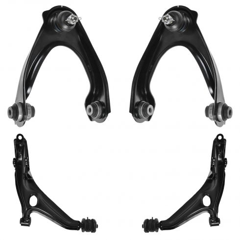 96-00 Honda Civic; 97-00 Acura EL Front Upper & Lower Control Arm Kit (Set of 4)