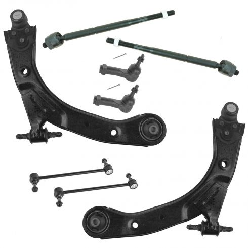 05-10 Cobalt; 07-10 G5; 05-07 Ion; 05-06 Pursuit (w/FE1 Susp) Front 8 pc Suspension Kit