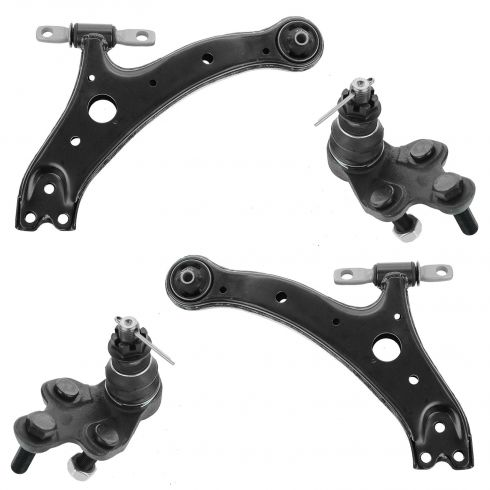 01-03 Toyota Highlander Front Lower Control Arms with Ball Joint Set