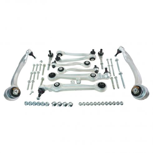 02 (from 9/01)-04 Audi A6; 99-04 A6 Quattro; 03 (from 6/02)-05 VW Passat (13 Piece) Front Susp Kit