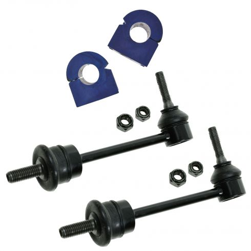 98-02 Town Car, Crown Vic, Grand Marquis Front Sway Bar Link & Bushing Set