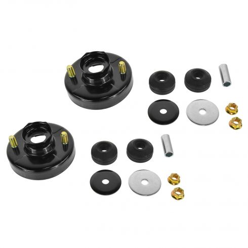 94-01 Integra; 92-00 Civic; 93-97 Del Sol; 97-01 CR-V Front; 00-09 S2000 Rear Strut Mount Kit PAIR