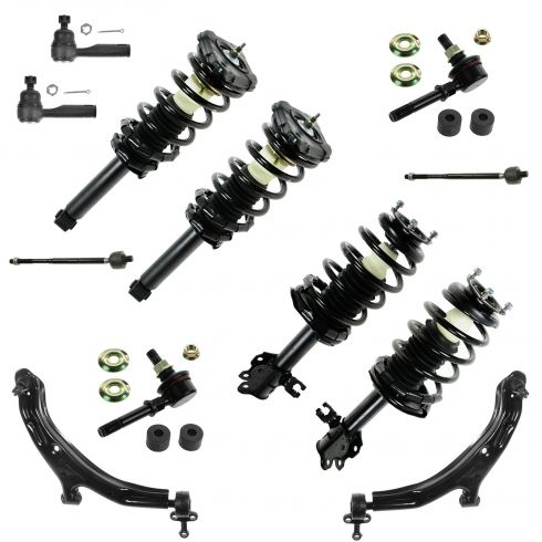 02-06 Nissan Sentra (exc SE-R) 12 Piece Front & Rear Strut/Shock/Suspension Kit
