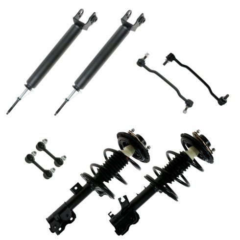 02-06 Nissan Altima 8 Piece Front & Rear Stut/Shock/Sway Bar Link Kit